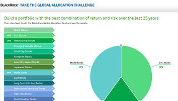 Take the Global Allocation Challenge now.