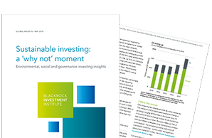 "Sustainable investing: a ""why not"" moment"